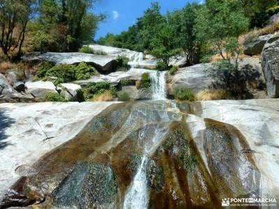 Cascadas Gavilanes,Garganta Chorro;Mijares;rutas en avila excursiones desde toledo escapada tematica